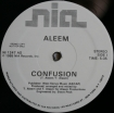 Cover 'Confusion (Promo)' [Click to enlarge]