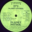 Cover 'Planet Patrol  (Limited Edition Color Vinyl)' [Click to enlarge]