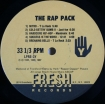 Cover 'The Rap Pack' [Click to enlarge]