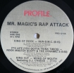 Cover 'Mr. Magic's Rap Attack Volume 1' [Click to enlarge]