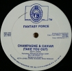 Cover 'Saturday Night / Champagne & Caviar (Take You Out)' [Click to enlarge]