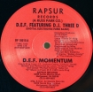 Cover 'D.E.F. Momentum' [Click to enlarge]